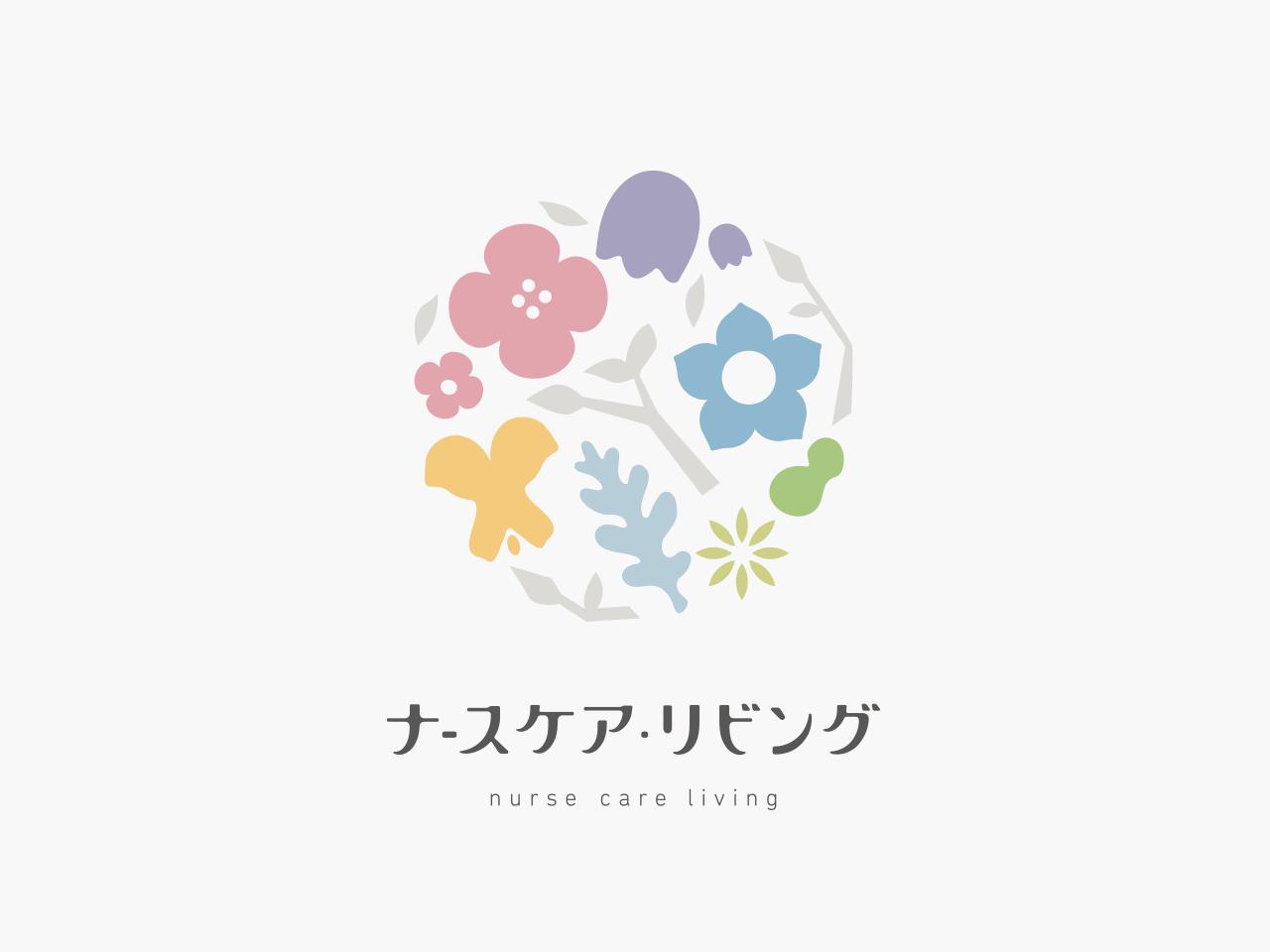 ナースケア・リビング様|ロゴマーク制作